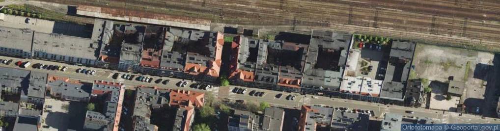 Zdjęcie satelitarne Wojewódzka ul.