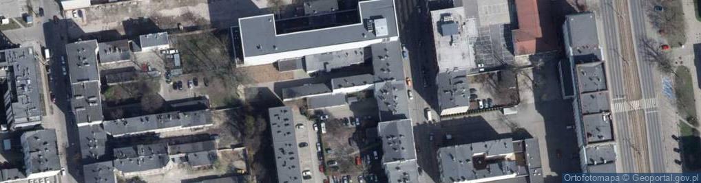 Zdjęcie satelitarne Wólczańska 147/151