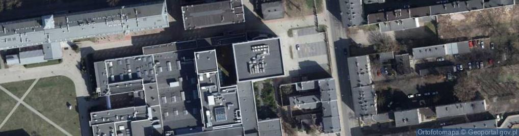 Zdjęcie satelitarne Wólczańska 215