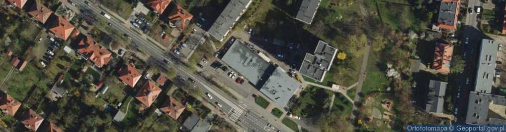 Zdjęcie satelitarne Wojska Polskiego 8