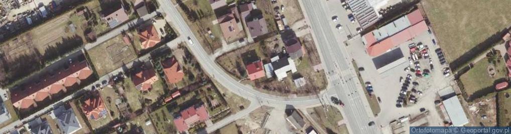 Zdjęcie satelitarne Wojtyły Edmunda, dr. ul.