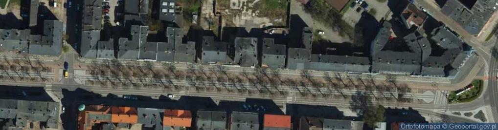 Zdjęcie satelitarne Wojska Polskiego 7
