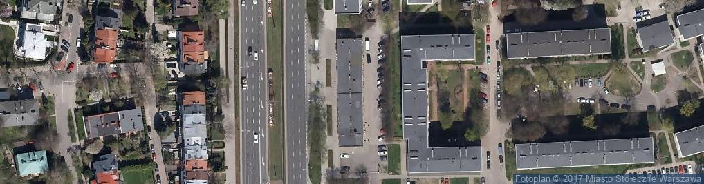 Zdjęcie satelitarne Wołoska 52