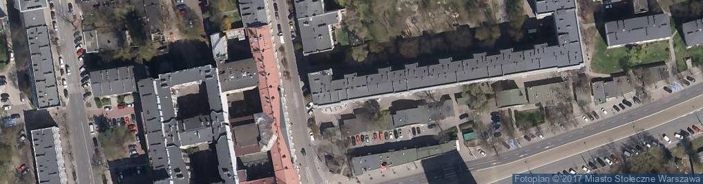 Zdjęcie satelitarne Wolska 50