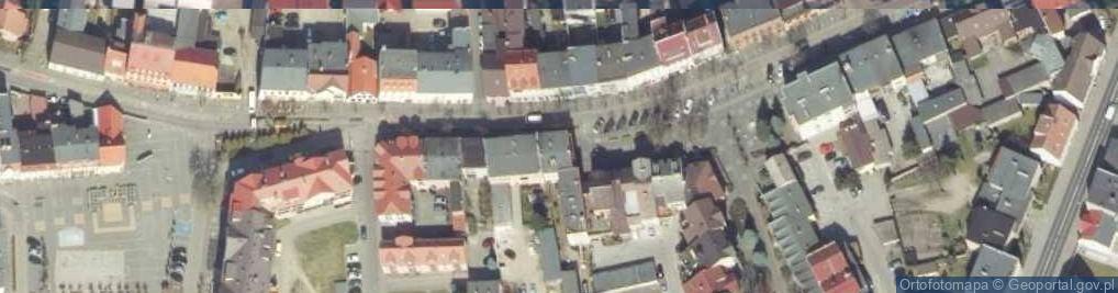 Zdjęcie satelitarne Wojska Polskiego 26