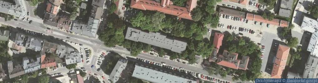Zdjęcie satelitarne Wrocławska 1