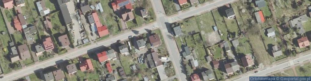 Zdjęcie satelitarne Wschodnia 64