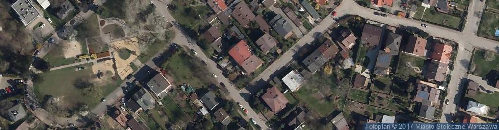 Zdjęcie satelitarne Wszemirowska ul.