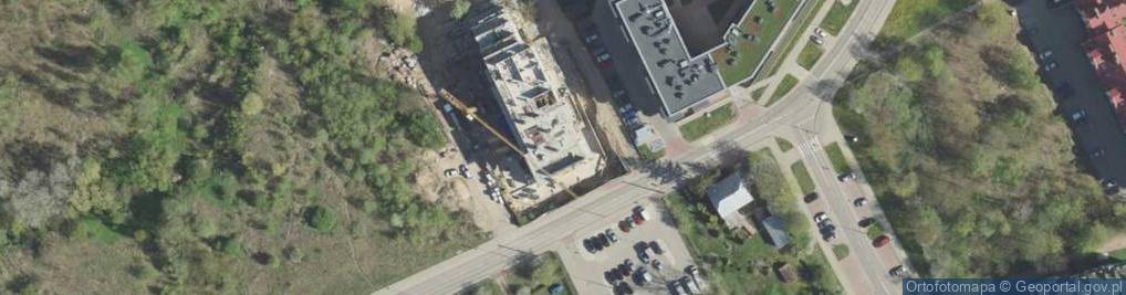 Zdjęcie satelitarne Wysoki Stoczek 60