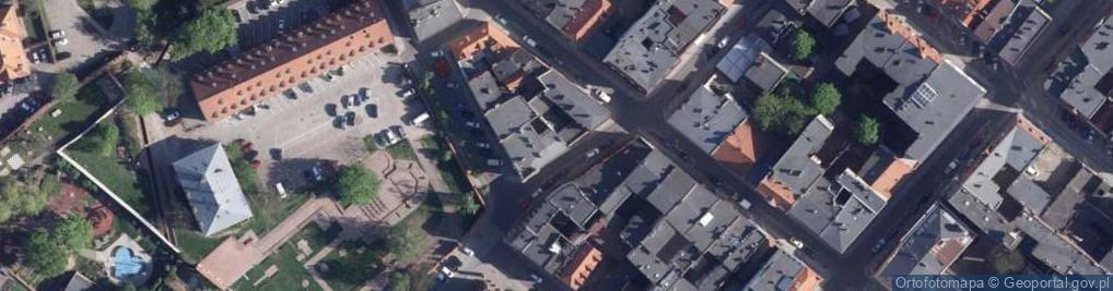 Zdjęcie satelitarne Wysoka 16