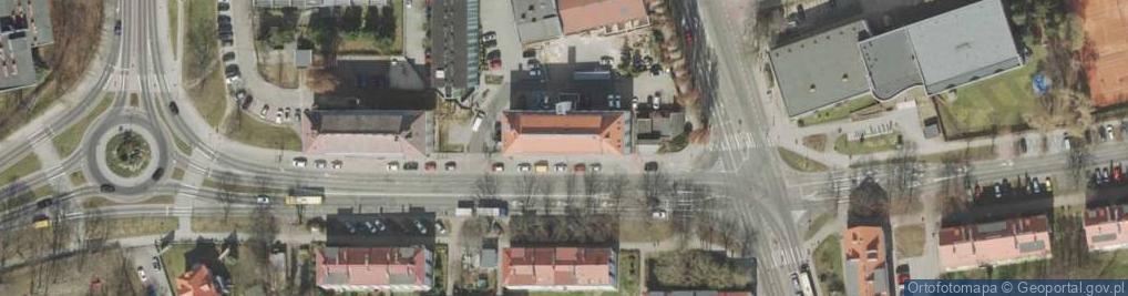 Zdjęcie satelitarne Wyspiańskiego Stanisława 15b