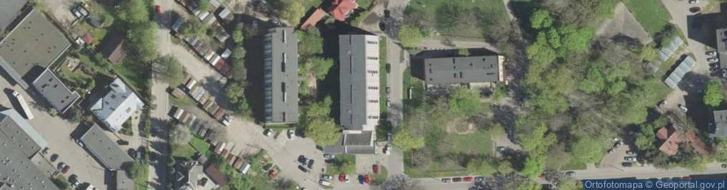 Zdjęcie satelitarne Żabia 3