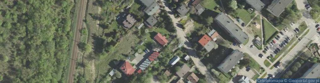 Zdjęcie satelitarne Zagumienna ul.
