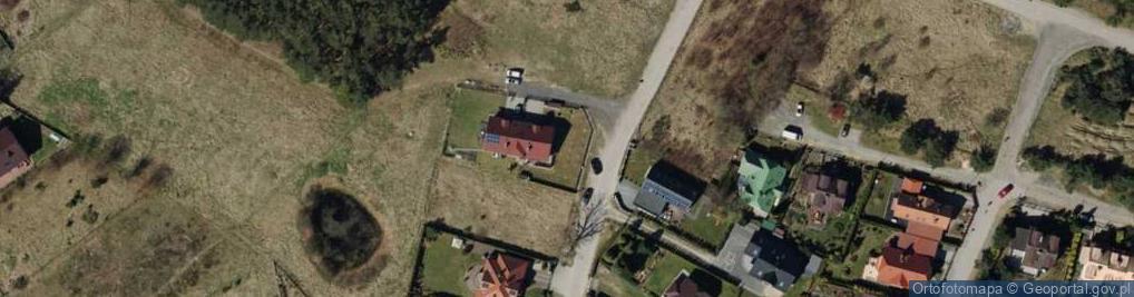 Zdjęcie satelitarne Żaglowa ul.