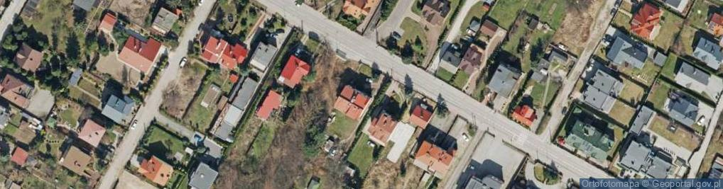 Zdjęcie satelitarne Zagórska 180