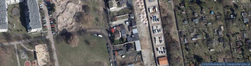 Zdjęcie satelitarne Zapadła ul.
