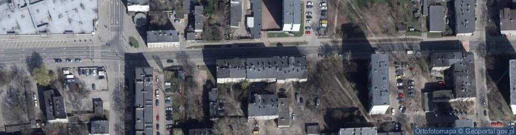 Zdjęcie satelitarne Zawiszy Czarnego 9