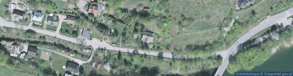 Zdjęcie satelitarne Żarnówki ul.