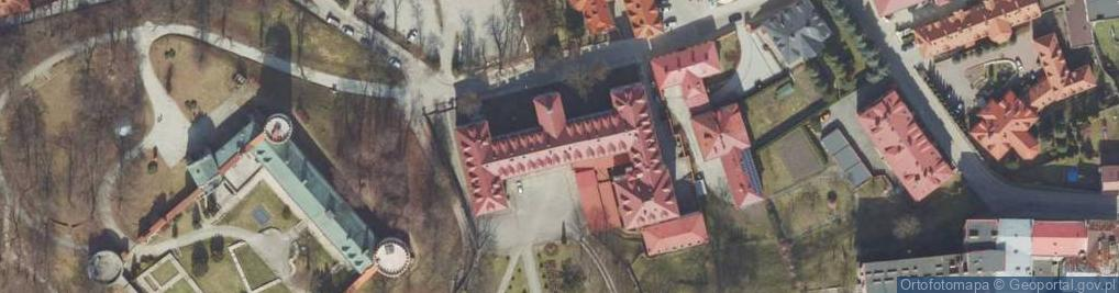 Zdjęcie satelitarne Zamkowa 5