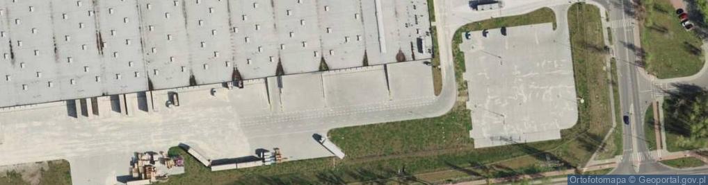 Zdjęcie satelitarne Zabrzańska ul.