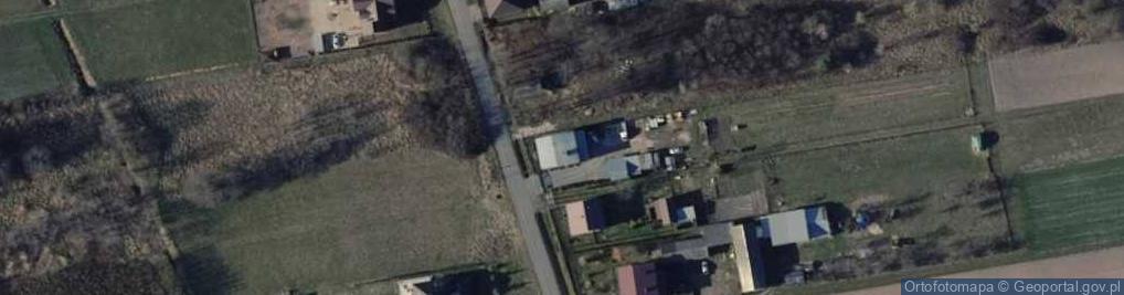 Zdjęcie satelitarne Zadębie 17