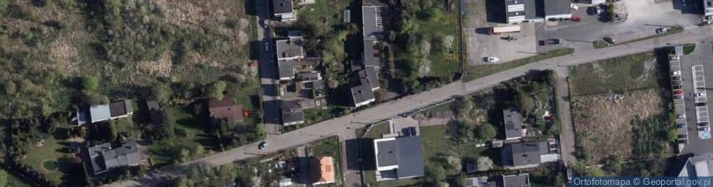 Zdjęcie satelitarne Ziemska ul.