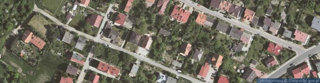 Zdjęcie satelitarne Zielona 13
