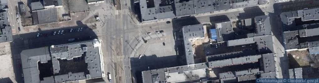 Zdjęcie satelitarne Zielona 8