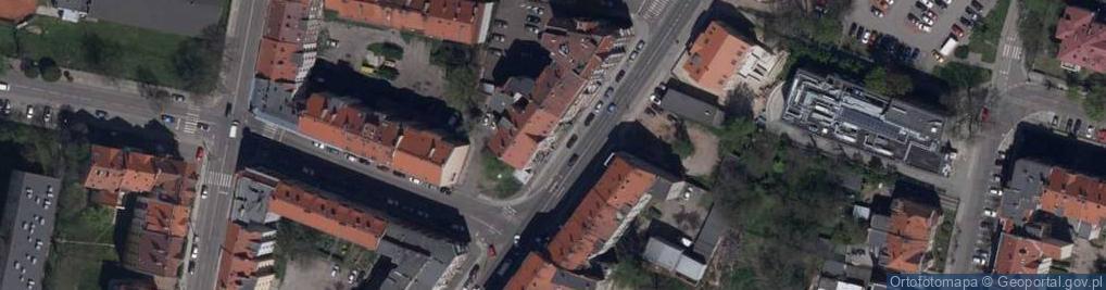 Zdjęcie satelitarne Złotoryjska 67