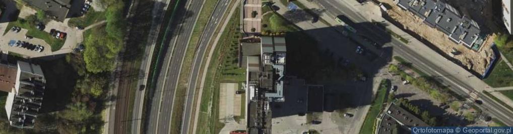 Zdjęcie satelitarne Żołnierska 16