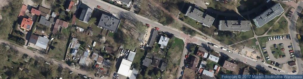 Zdjęcie satelitarne Żółwia ul.