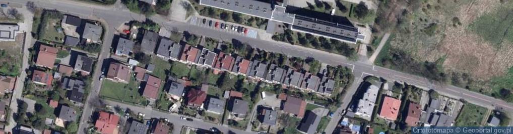 Zdjęcie satelitarne Żużlowa ul.