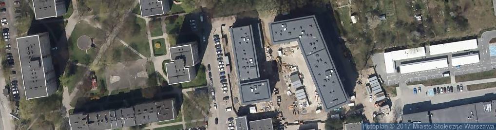 Zdjęcie satelitarne Zwierzyniecka 8