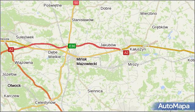 gmina Dobre - powiat miński na mapie Targeo