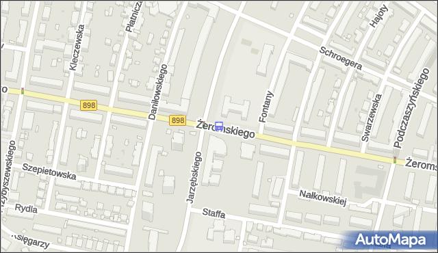 Przystanek BIELANY-RATUSZ 02. ZTM Warszawa - Warszawa na mapie Targeo