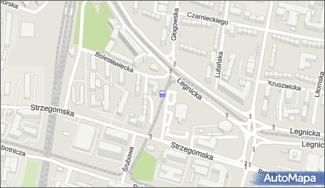 Przystanek Dolmed. MPKWroclaw - Wrocław na mapie Targeo
