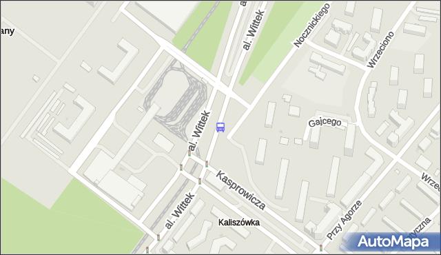 Przystanek METRO MŁOCINY 03. ZTM Warszawa - Warszawa na mapie Targeo