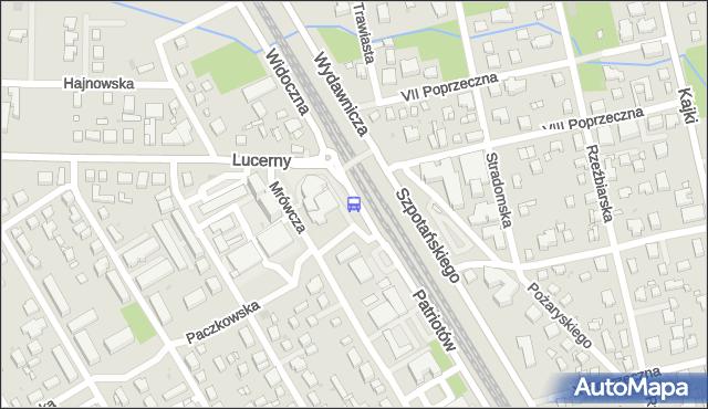 Przystanek PKP ANIN 01. ZTM Warszawa - Warszawa na mapie Targeo
