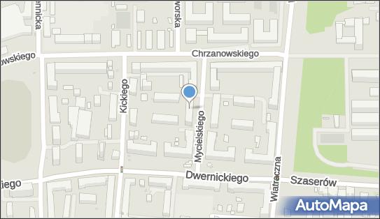 Urząd Skarbowy, Warszawa, Ludwika Mycielskiego 21