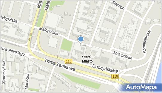 ABW Delegatura, Szczecin, Małopolska 15