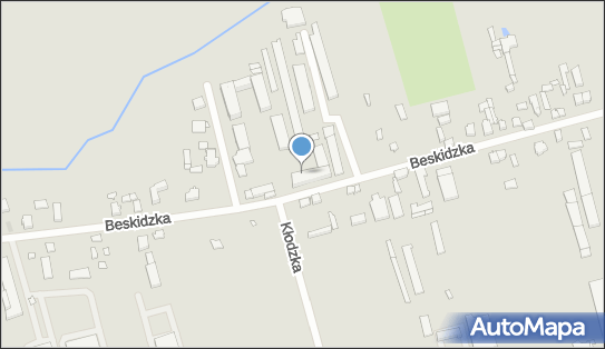 ZK Nr 1, 91-611 Łódź, ul.  Beskidzka 54  - Areszt śledczy, zakład karny