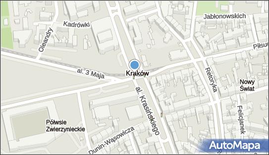 Ulica Piłsudskiego, Kraków, ul. Piłsudskiego  - Atrakcja turystyczna