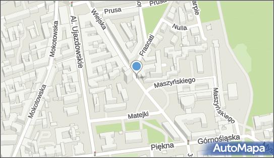 Ulica Wiejska, Warszawa, ul. Wiejska  - Atrakcja turystyczna