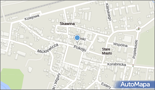 Bank Spółdzielczy w Skawinie, Skawina, Rynek 19  - Bank Spółdzielczy - Bankomat