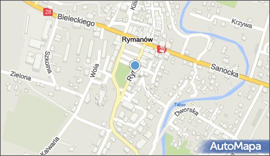 BS Rymanów, 38-480 Rymanów-Zdrój, Rynek 14  - Bank BPS - Oddział