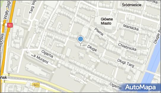 Bank Pocztowy,  Gdańsk, Długa 28/23  - Bank Pocztowy - Oddział