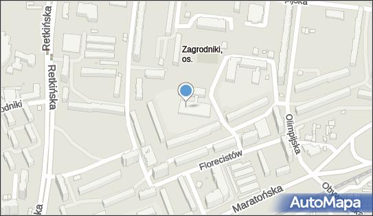 Basen, Łódź, ul. Florecistów 3b