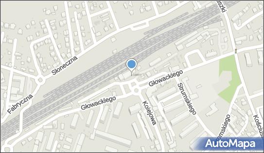 Parking Bezpłatny, Dębica, ul. Głowackiego (przy stacji PKP)  - Bezpłatny - Parking