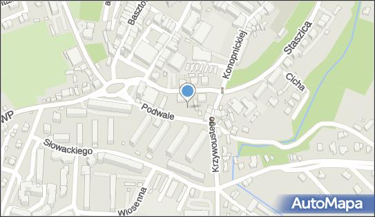 Parking, 59-500 Złotoryja, Podwale  - Bezpłatny - Parking