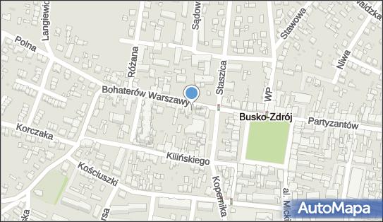 Fortis Bank, Busko Zdrój, ul. Bohaterów Warszawy 11